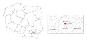 mapa rzemien lokalizacja